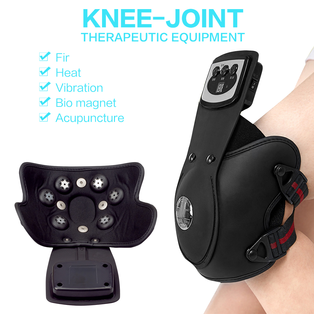 Beurha knee massage instrument Physiotherapy instrument for knee joint Hot compress Electrothermal kneepad  Home rehabilitatio