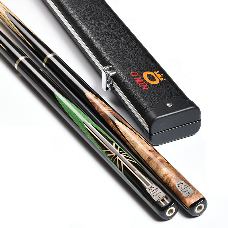 brand billiard pool cue for women lady 10mm tips 3 4 joint nine ball ball arm billiards snooker cues pool cue stick accessories O`MIN Evolution Handmade 3/4 Jointed Snooker Cues Sticks  10mm Tips pool cue Nine-ball  billiards stick high quality wood made