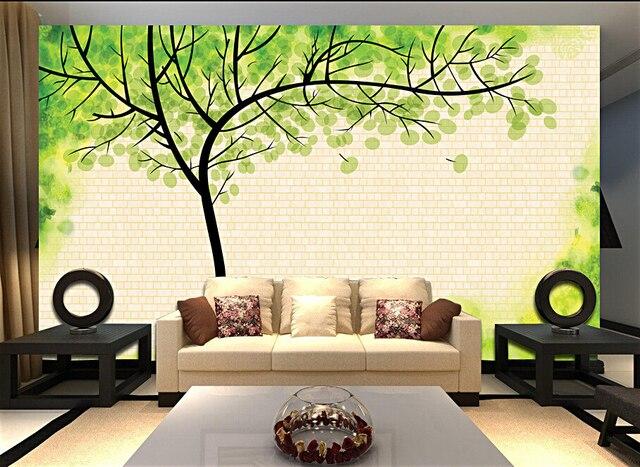 Behang Boom Kinderkamer : Custom kinderen behang fantasy boom 3d stereoscopische behang voor