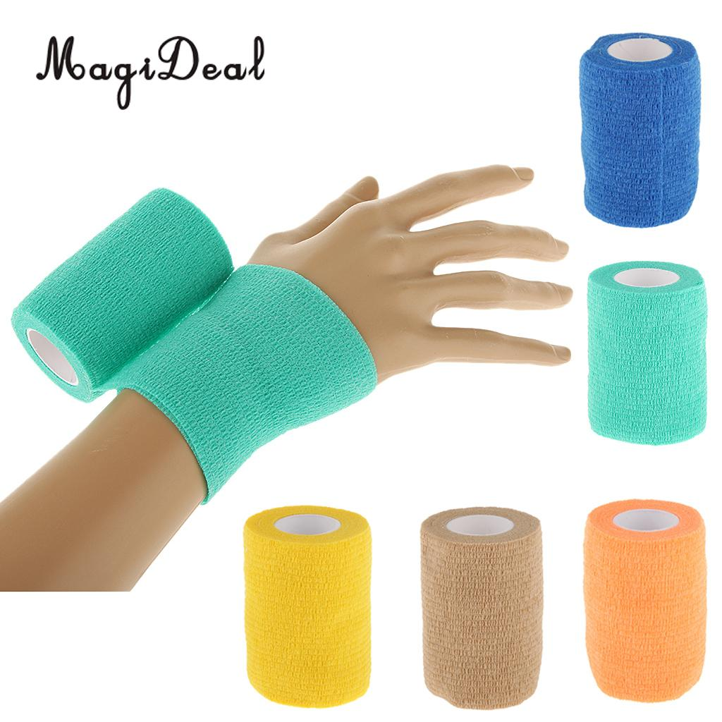 Sports & Entertainment Rapture Magideal High Flexibility 7.5cm First Aid Medical Ankle Care Self-adhesive Bandage Elastic Gauze Tape Protect Body 4color Choose