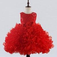 Retail New Style Baby Girl Dress Summer 2 12 Years Flower Girl Dress For Wedding Girls