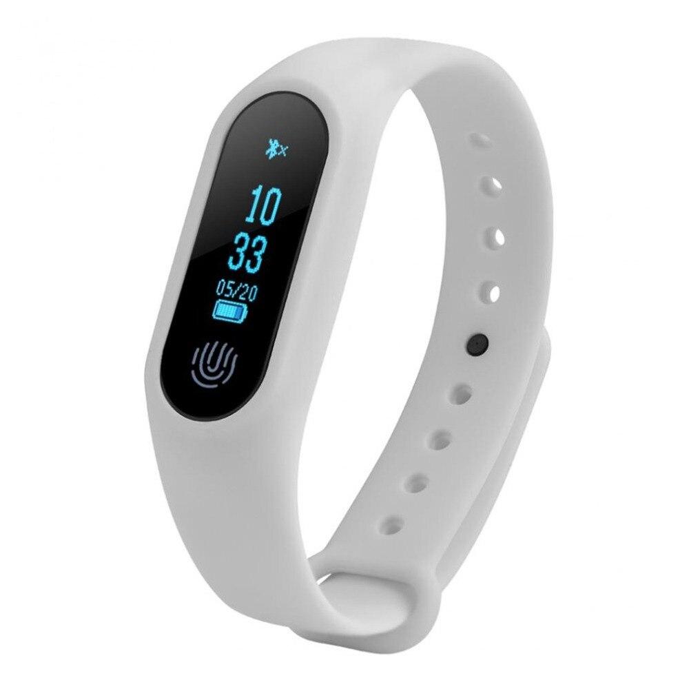 2018 heißesten 0,42 zoll OLED Bildschirm APP Nachricht Erinnerung Smart Uhr Fitness Tracker Heart Rate Monitor Smart Handgelenk Uhr