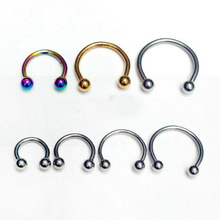 inoxydable Piercing 4 pièces