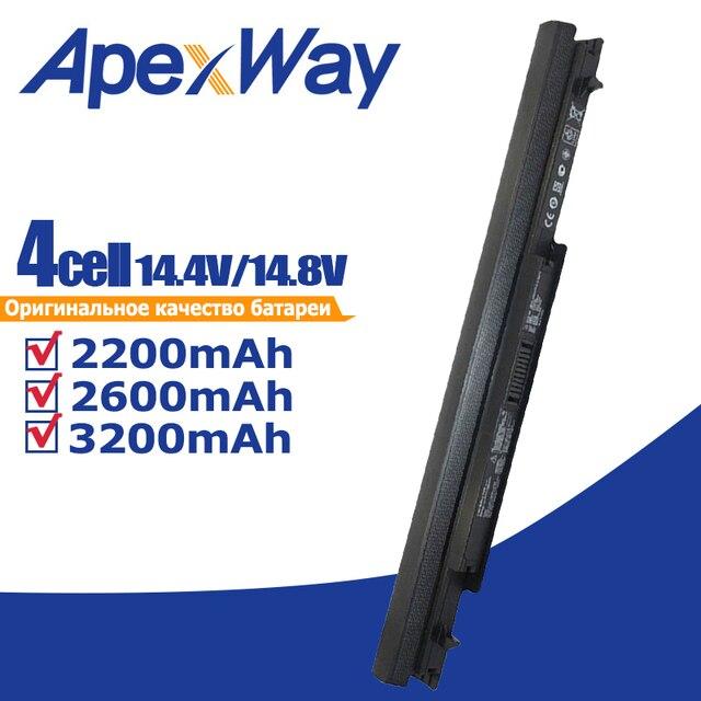 Bateria do Asus A31 K56 A32 K56 A41 K56 A42 K56 S405C S46C E46C A46C A56C R505C K46C S56C U48C V550C K56CB R405C S505C S550C