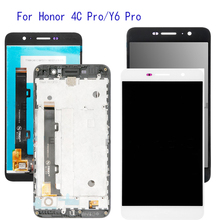 With Frame 5.0'' For Huawei Honor 4C Pro TIT-L01 LCD Display Touch Screen Digitizer Assembly Replacement LCD Screen