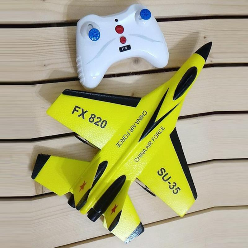 Image 3 - RC Plane Toy EPP Craft Foam Electric Outdoor RTF Radio Remote Control SU 35 Tail Pusher Quadcopter Glider Airplane Model for Boy-in RC Airplanes from Toys & Hobbies