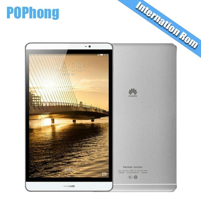 Глобальной прошивки Huawei MediaPad M2 8.0 Планшеты PC 3 ГБ Оперативная память 32 ГБ/64 ГБ Встроенная память Kirin930 Восьмиядерный 8.0 дюймов 1920X1200px 8MP 4800 мАч P