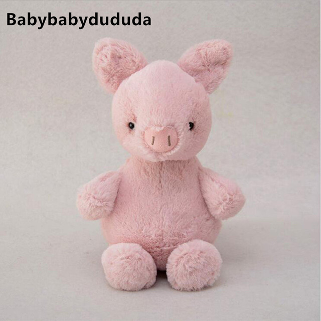 20cm Cute Plush Dolls Pink Small Pig Doll Plush Toys Stuffed Toy