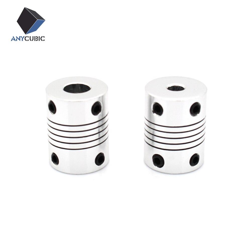 3D printer parts CNC Motor Jaw Shaft Flexible Coupling Coupler 5x8x25mm