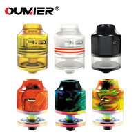 OUMIER WASP NANO RDTA 2ml Tank 22mm Rebuildable Atomizer With Easy Building Deck Electronic Cigarette Vape