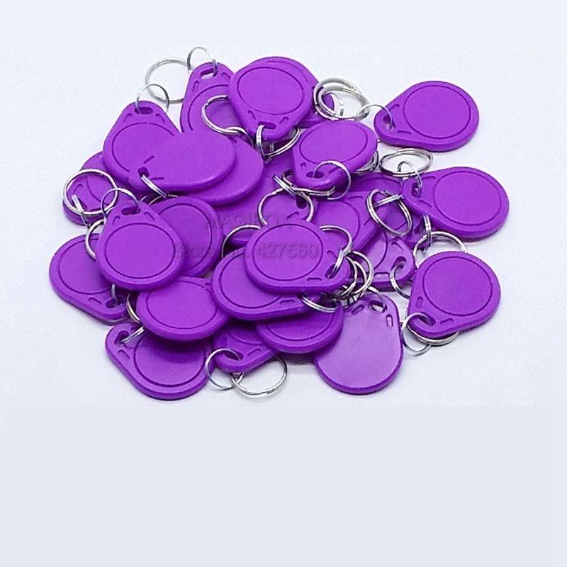 50pcs/lot  NTAG216 NFC tags  NFC keychain cards NTAG216 Electronic tags 50pcs lot 13 56mhz nfc tags ntag216 tags nfc self adhesive coin