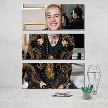 The Triptych Lil Peep Photo Canvas Poster 3 Panel Wall Art Sheets of Paintings Nordic Cuadros Decoracion Pop