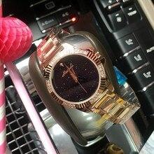 Люксовый Бренд Леди Золотые Часы Женщины Полный Нержавеющей Стали Наручные Часы Женщины Браслет Смотреть Дамы Наручные Часы Montre Femme
