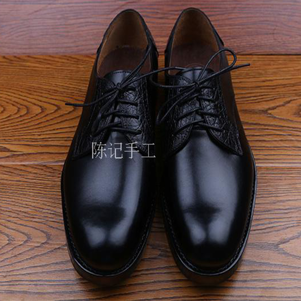 Maximum size 50 luxury mens custom goodyear welted shoes black grooms wedding shoes italian handmade mens derby leather shoes luxury bespoke goodyear welted shoes elegant mens dress shoes italian unique boss wingtips shoes italian grooms wedding shoes