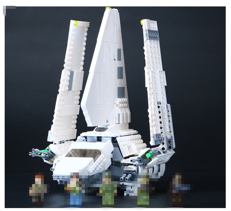Hot 05057 Star Series Shuttle Tydirium Building Blocks Bricks Assembled Toys Compatible with 75094 Gifts War lepin 05057 937pcs star moc series war imperial shuttle tydirium building blocks bricks assembled children toys compatible 75094