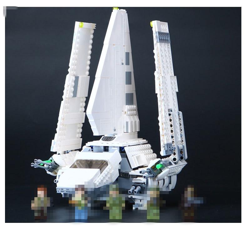 Hot  05057 Star Series Shuttle Tydirium Building Blocks Bricks Assembled Toys Compatible with 75094 Gifts War ювелирное изделие 75094