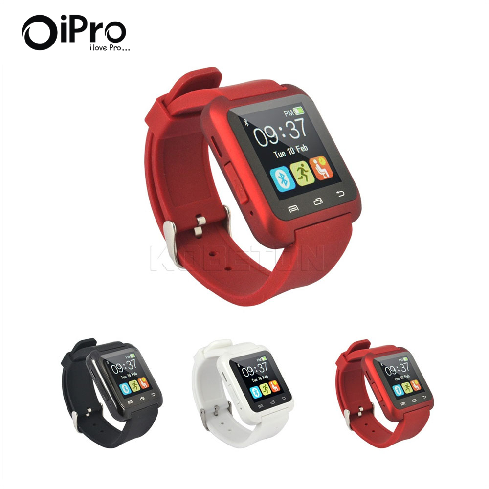 Hot Bluetooth Watch font b Smartwatch b font U80 for Apple watch Samsung Android smart Phone