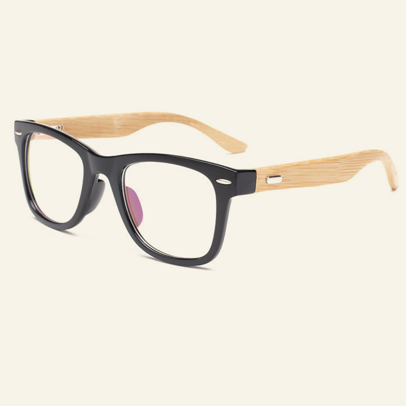 Personality Design Bamboo Glasses Frames Women Men Original Wood ...