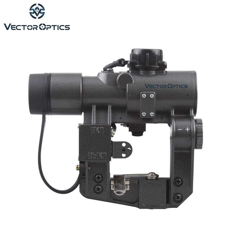 Vector Optics Hunting SVD Dragunov 1x28 Red Dot Scope Sight