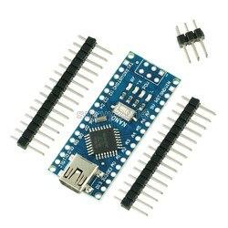 Nano Mini USB с Загрузчиком совместимый Nano 3,0 контроллер для arduino CH340 USB драйвер 16 МГц Nano v3.0 ATMEGA328P/168 P