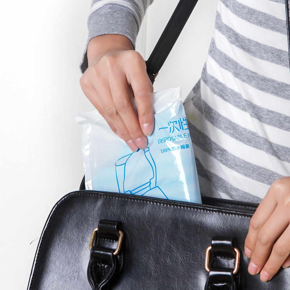 30 ^ 1 Uds. Pegatina Universal desechable para inodoro, cubierta para asiento de inodoro, taburete de viaje de negocios, portátil