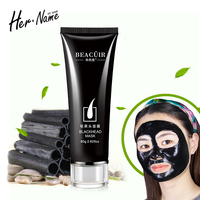 Her Name Charcoal Blackhead Bottle Pro Remover Tearing Nose Outlet Women Men Black Head Skin Care