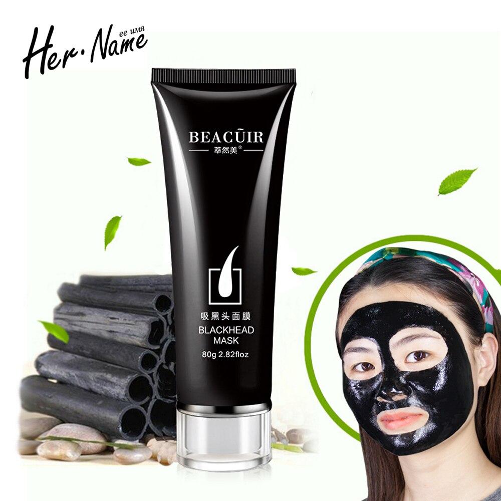 black charcoal blackhead bottle skins font b remover b font Tearing nose outlet women men black