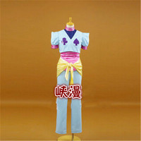 Anime Hunter X Hunter Hisoka Cosplay Costume Top+Pants+Apron