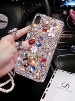 824ace201d3 ... funda para iphone X XS XR MAX 7 8 6 S Plus. XINGDUO 3D Cute Luxury  Bling Lovely Bear Diamonds Flowers Case Cover For Iphone X XS XR
