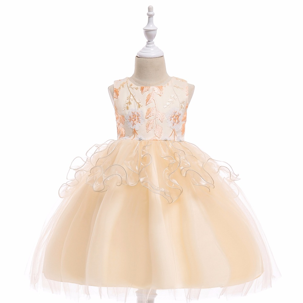 Cap Sleeves Sequins Beading Lace   Flower     Girls     Dresses   for Wedding   Girls   First Communion   Dress   Prom Party Gowns