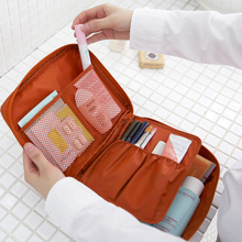 IUX Zipper New Man Women Makeup Bag Cosmetic Bag Beauty Case Make Up Organizer Toiletry Bag Kits Storage Travel Wash Pouch
