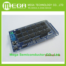 Free shipping . MEGA Sensor Shield V1.0 V2.0 dedicated sensor expansion board electronic building blocks  for Arduino Compatible