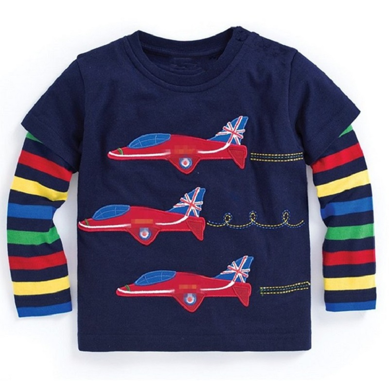 Baby Boy Sweatshirt Boys T shirts for Kids Clothes 100% ...