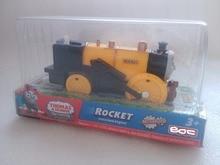 T0244 Electric Thomas and friend Rocket Trackmaster engine Motorized train Chinldren child kids plastic toys gift NIB