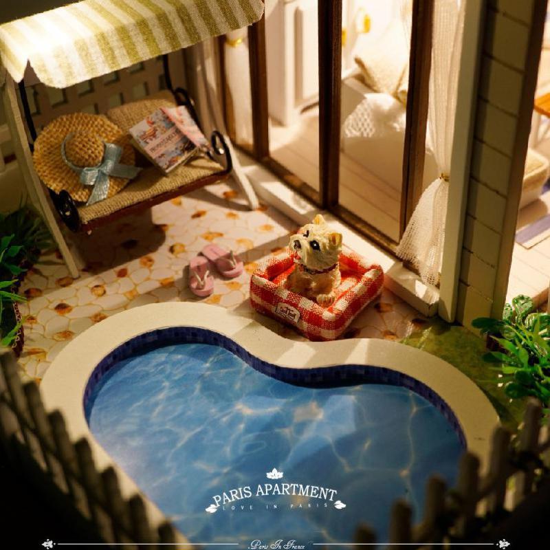 Aliexpress.com: comprar casa de muñecas muebles de casas de ...