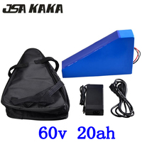 60V electric scooter battery 60v 20AH electric bicycle battery 60V 20AH ebike battery 60v lithium battery with 67.2V 2A charger