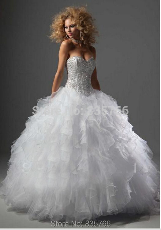 Online Get Cheap Blue White Quinceanera Dresses -Aliexpress.com ...