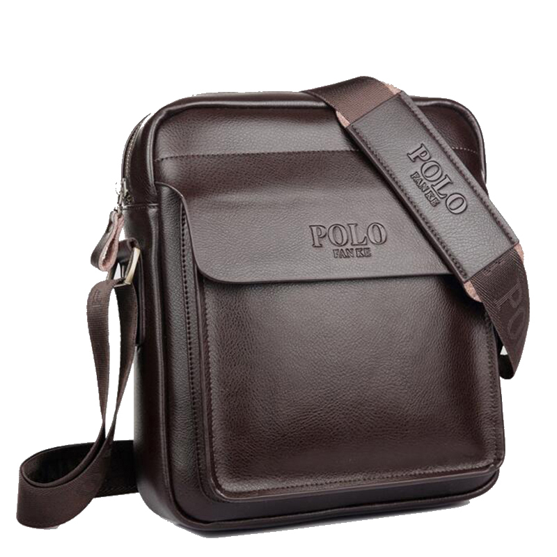 Polo Men Shoulder bag Genuine leather Men Bag Classical Messenger Bag Fashion Casual Business Shoulder Handbags for Men Bag 2016 new leather men bag classical messenger bag men fashion casual business shoulder handbags for men bag hot free shipping