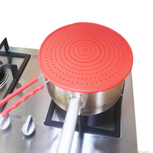 Image 2 - Pantalla de salpicadura de 13 pulgadas cubierta/colador/estera de enfriamiento/drenaje multiuso 4 en 1, protege de salpicaduras de aceite caliente para cocinar y freír