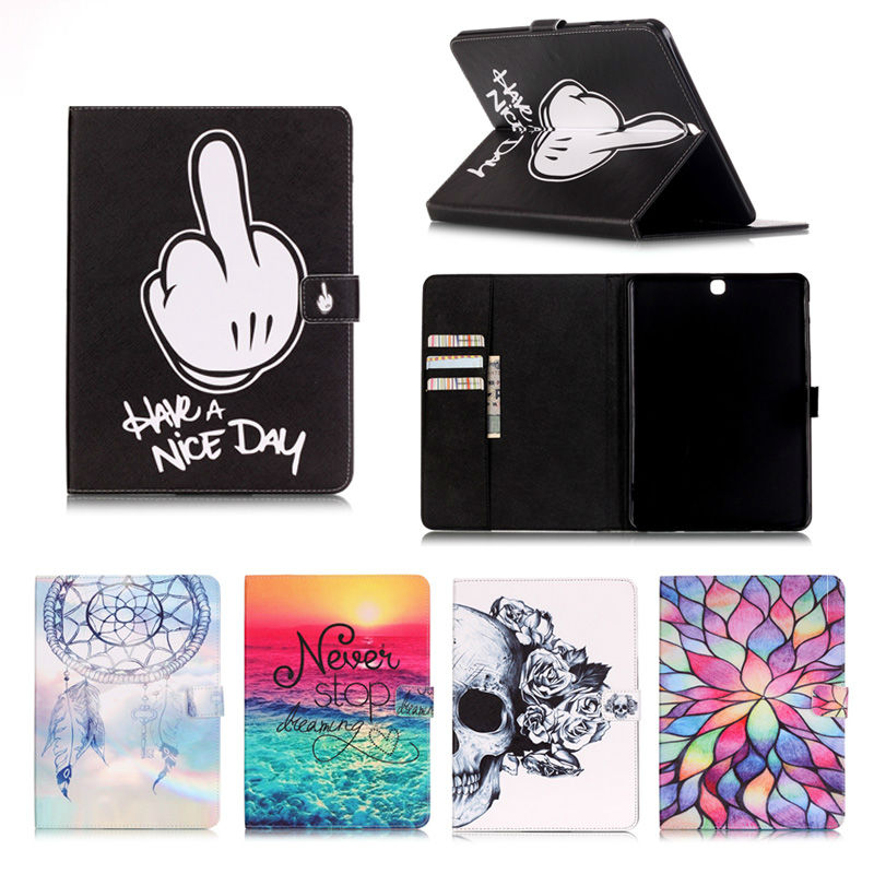 For Samsung Galaxy Tab S2 9.7 T815 T810 SM-T815 Cases Wallet Leather Flip Stand Cover Case For Samsung Tab S2 9.7 tablet bags 360 rotation pu leather cover case for samsung galaxy tab s2 9 7 t810 t815 flip cases with stand function tablet case tylus film