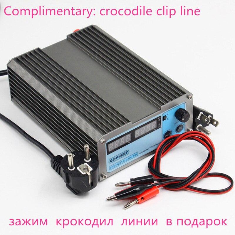 Gophert CPS-3205II DC Schaltnetzteil Einzigen Ausgang 0-32 V 0-5A 160 Watt einstellbar