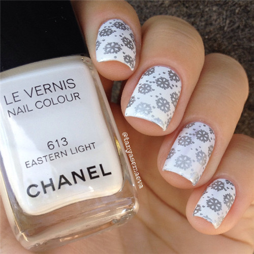 1 Pc Cute Russian Doll Tribal Pattern Design Nail Art Stamp Template Image BORN PRETTY Nail Stamping Polish Plate BP-L018
