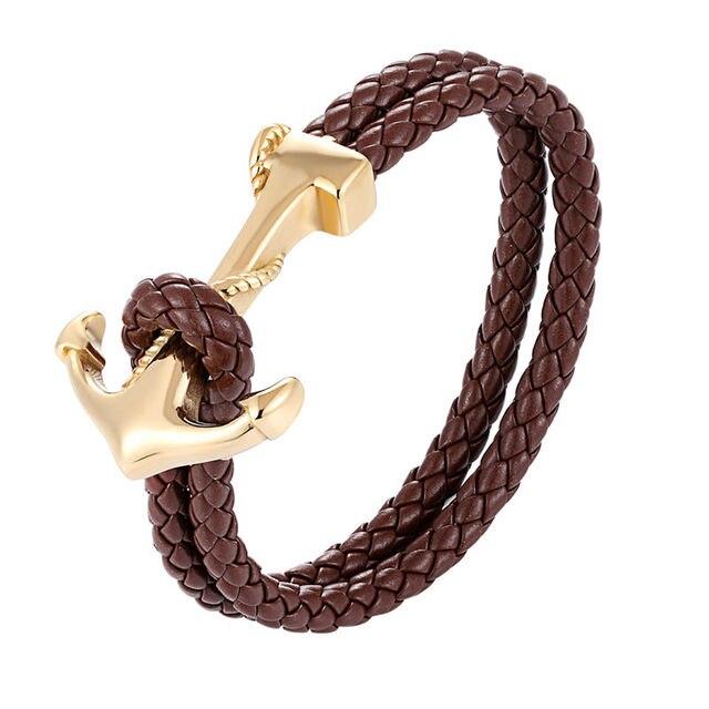 Bracelet Ancre Histoire D'or