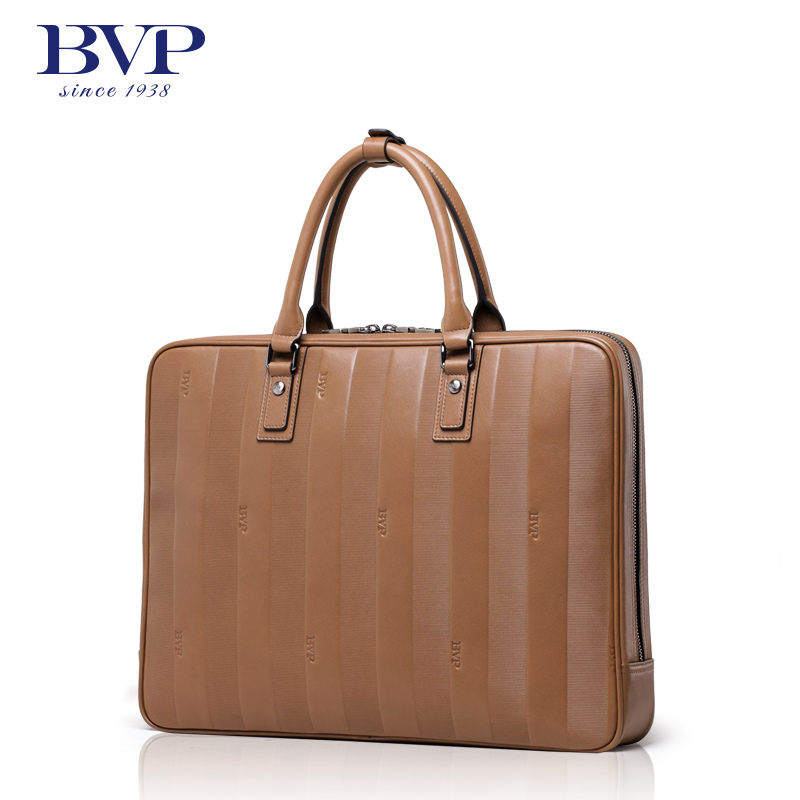 BVP  Men's Genuine Leather Vintage Frmal Business Lawyer Briefcase Messenger Shoulder Attache Portfolio Tote Free Shipping T1022 цена и фото