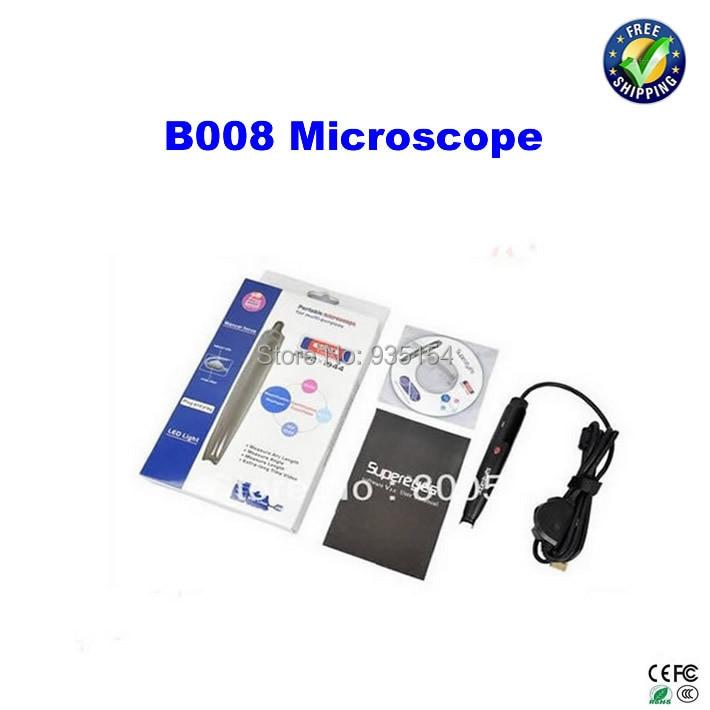 все цены на 500X USB microscope B008 Mini Portable  LED Digital Microscope, Endoscope Magnifier Camera Super eyes онлайн
