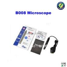 500X USB микроскоп B008 Мини Портативный СВЕТОДИОДНЫЙ Цифровой Микроскоп, эндоскоп Лупа Камеры Супер глаза