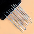 2016 New Good Quality 10pcs Stainless Steel Dentist Surgical Dental Wax Carving Tool Kit