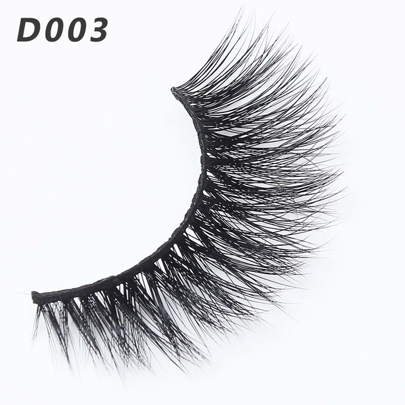 b7319f29e95 SUPERWIN Mink Lashes 3D Mink False Eyelashes Long Lasting Lashes Natural  Lightweight Mink Eyelashes Glitter Packaging New 1 Pair