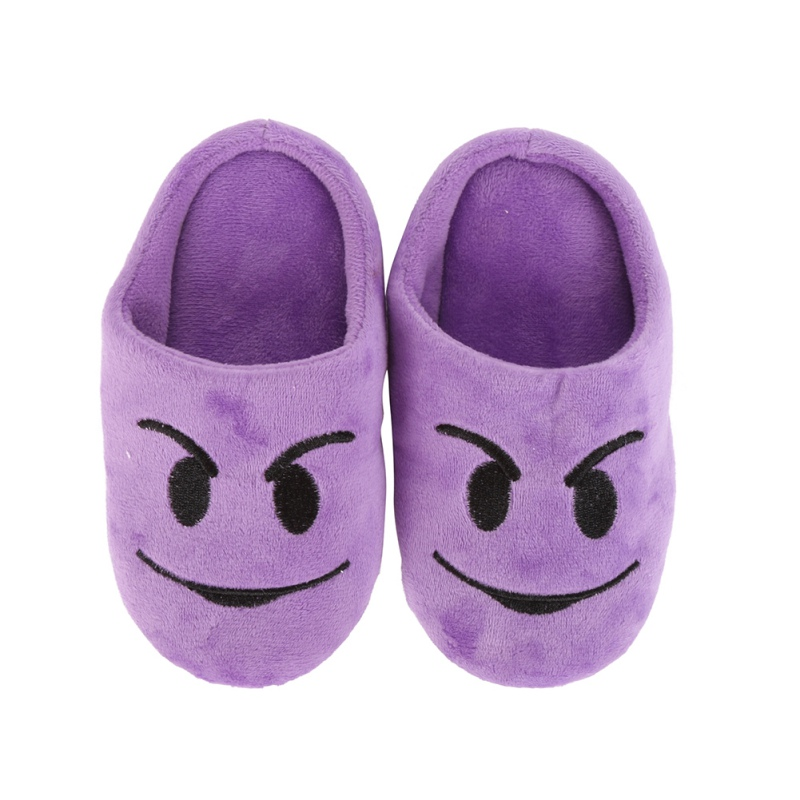 Winter-Children-Girls-Boys-Fashion-Expression-Package-Cotton-Slippers-love-Smiling-Face-Section-Cool-Style-Flip-Flop-3