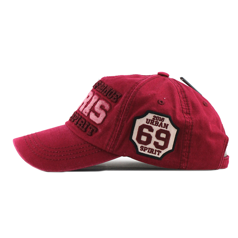 c87978742 US $9.69 49% OFF|[FLB] 2019 New Cotton Men's Baseball Cap Snapback Hats  Casquette Gorras Summer Fishing Hat For Men Women Caps Washed Hats F300-in  ...